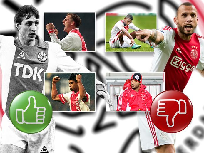 Top en flops bij Ajax na terugkeer.