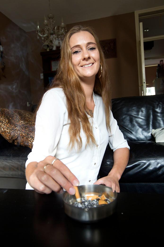 Chantal Vreulink is van het roken af.