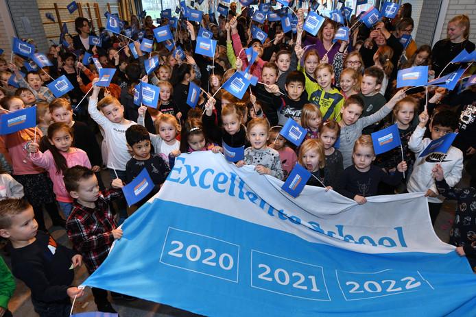 De Koningin Julianaschool in Nieuwegein is wederom Excellente School.