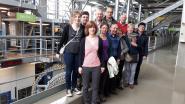Kampeerclub bezoekt drukkerij Het Laatste Nieuws