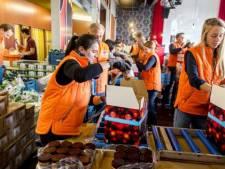 Goed tafelen in Tilburg voor spul dat Voedselbank mist