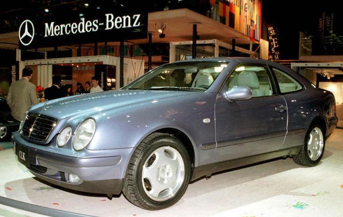 Foto ter illustratie: een Mercedes in 1998.