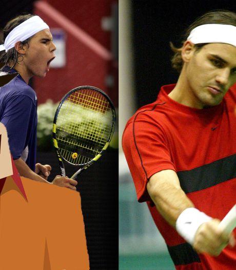 Quiz | Hoe vaak stonden Federer en Nadal tegenover elkaar?