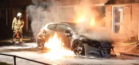 Auto in Schijndel verloren na brand