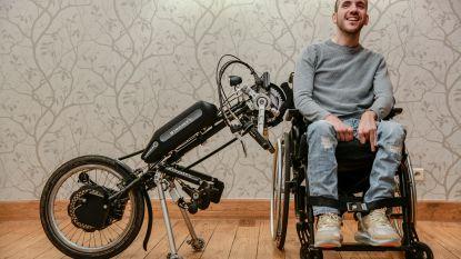 """Jenti maakt opwachting in 'Vandaag over één jaar' om met handbike 20 kilometer van Brussel te veroveren: """"Niet omdat je beperking hebt, dat je niet het maximum uit het leven kan halen"""""""