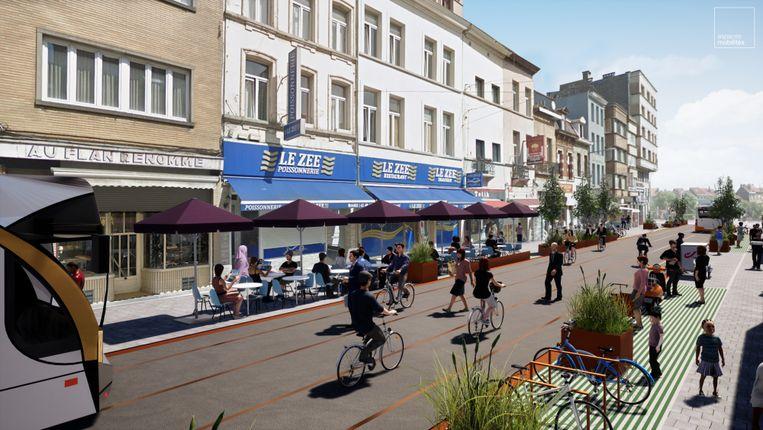 Vernieuwing van de Wayezstraat.