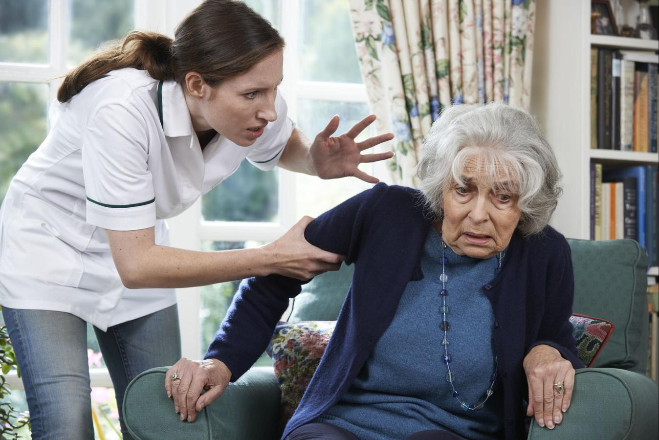 Jaarlijks hebben 170.000 ouderen te maken met een vorm van mishandeling