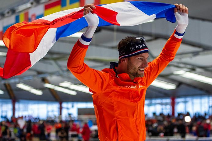 Wereldkampioen Thomas Krol.