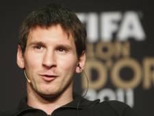 Bijna 50 procent stemde op Messi