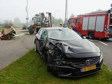 Vrouw gewond bij botsing met tractor in Wijchen
