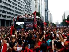 Dubbel feest voor Flamengo: club wordt tijdens huldiging kampioen van Brazilië