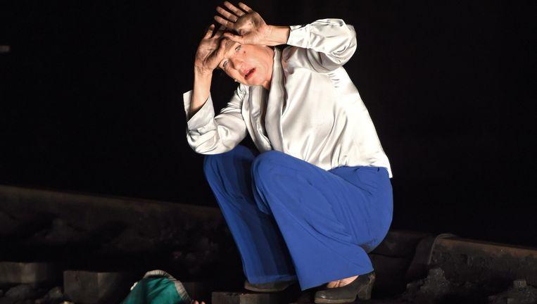 Benny Claessens en Elsie de Brauw in Die Fremden. Beeld DPA