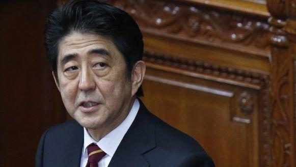 Premier Shinzo Abe.