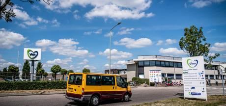 Ook in de busjes van Vion in Boxtel zitten mensen te dicht op elkaar