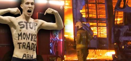 Vegan Streaker krijgt celstraf voor brandstichting bij eendenslachterij Ermelo