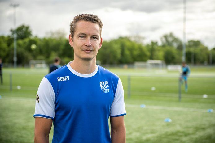 Kevin Hollander is ook komend seizoen trainer van JVOZ onder 17.