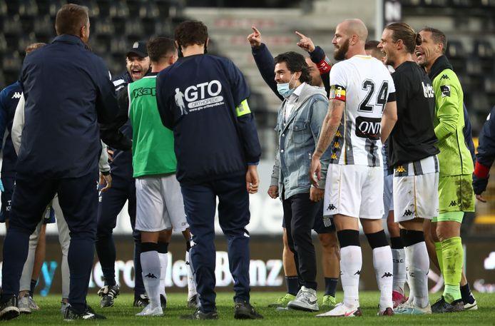 Le Sporting de Charleroi premier de classe après quatre journées.