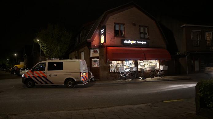 Snackbar Het Trefpunt in Apeldoorn werd dinsdagavond overvallen