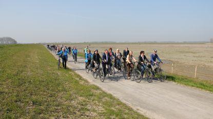 """Het Zwin per fiets: """"Adembenemend zicht vanop de nieuwe dijk"""""""