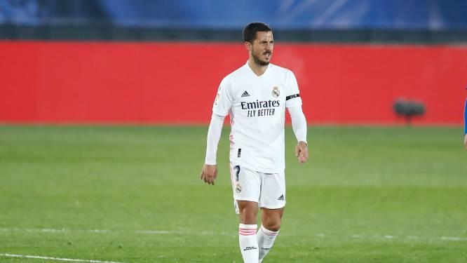 Eden Hazard behoort nog niet tot Real-selectie voor topper tegen Atlético