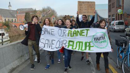 Zo'n 150 deelnemers voor klimaatmars in Geraardsbergen