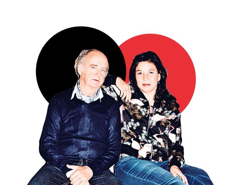 Kees Hulst (links) en Esther Scheldwacht (rechts) Beeld Valentina Vos