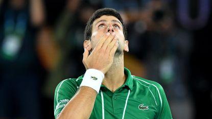 Novak Djokovic test ditmaal negatief op corona