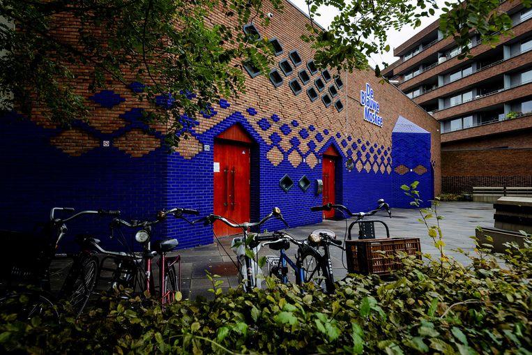 Exterieur van De Blauwe Moskee in Amsterdam Nieuw-West. Beeld ANP