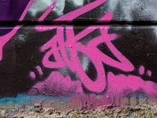 Politie Uden op zoek naar hardnekkige graffitispuiter