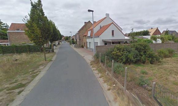 De Zerkegemstraat in Jabbeke.