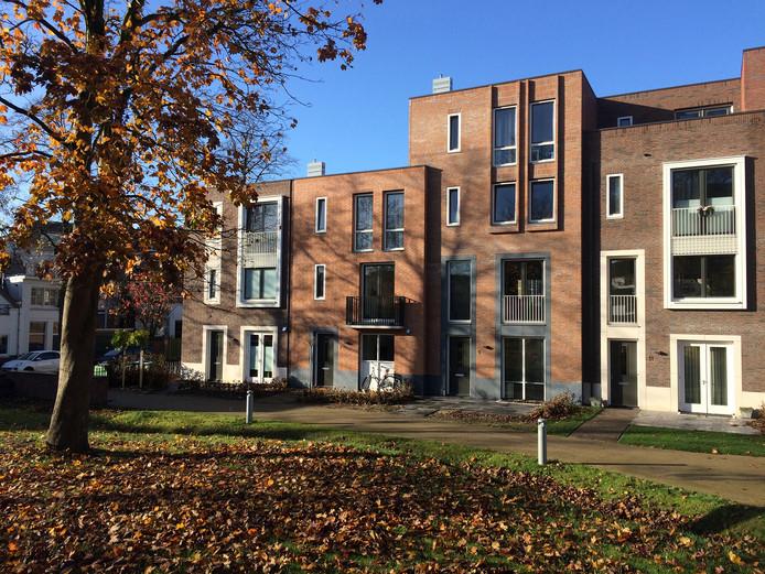 19. Parc Margriet aan de dr. Claas Norduijnstraat Architectenbureau: Inbo.  Opdrachtgever: KlokGroep, Nijmegen.
