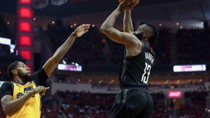 James Harden leidt Rockets voorbij Utah Jazz