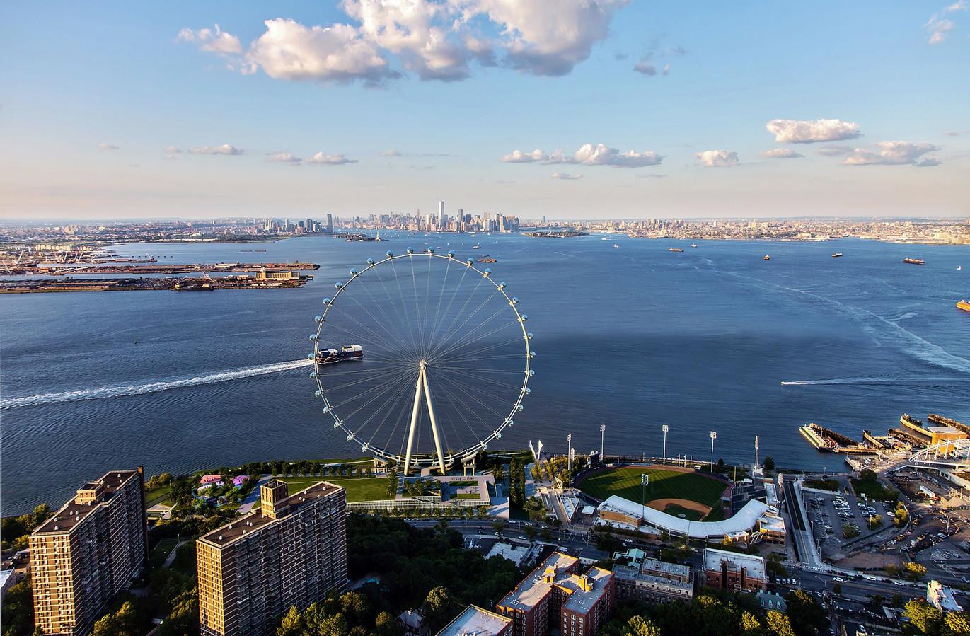 New York Wheel moet verrijzen op Staten Island.