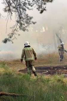 Verhoogd risico op natuurbranden door droogte in Midden-West-Brabant
