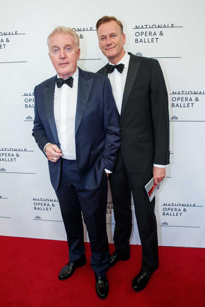 André van Duin met partner Martin