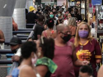 Opnieuw meer besmettingen in Brazilië na versoepeling maatregelen