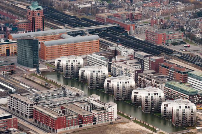 De Armada gebouwen van boven