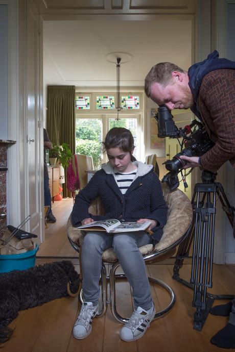 Tess (13) uit Eindhoven kruipt in huid Anne Frank