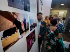 Vluchtelingen laten zich zien met foto-expositie in Eindhoven