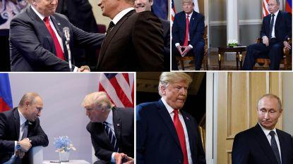 """Van """"Poetin vindt me leuk"""" tot """"Ik weet niet wie Poetin is"""": de haat-liefdeverhouding tussen Trump en zijn Russische ambtgenoot"""