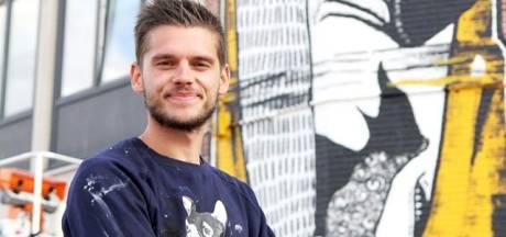 Mural van Brugse kunstenaar Wietse genomineerd voor 'beste Belgische street art'
