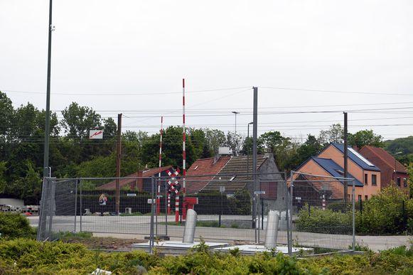 De glasbollen aan de Pleinstraat in Holsbeek zijn weer een stort.