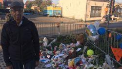 """Pépé Luc kapot van verdriet in 'verkeersvrije' straat waar Kato (12) stierf: """"Wraakroepend. Moest mijn kleindochter dan eerst sterven?"""""""