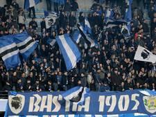 Deel stadion Bastia dicht na 'apengeluiden'