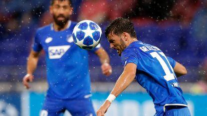 Hoffenheim en Shakhtar delen de punten