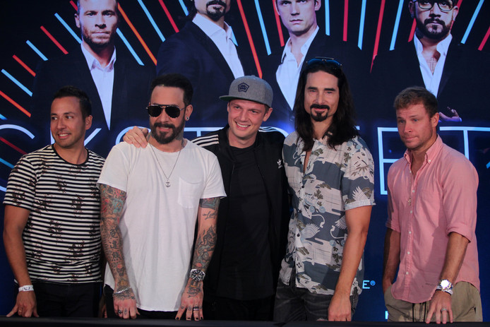 De Backstreet Boys in 2017