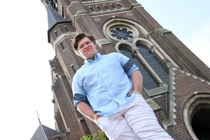 Xander Wassenaar is jong en woont in Wagenberg. Hij is een talentvol vioolspeler.