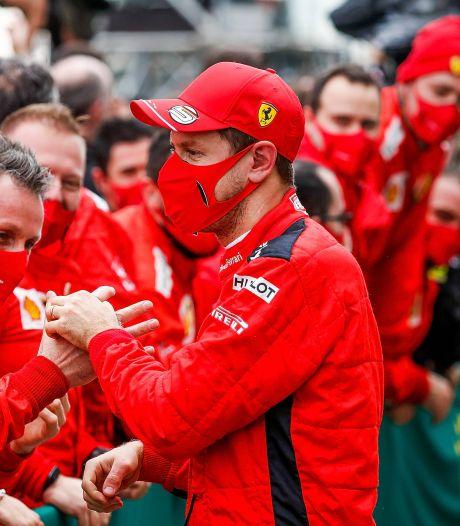 Liefde tussen Vettel en Ferrari is over: 'Ik heb niks gepresteerd'