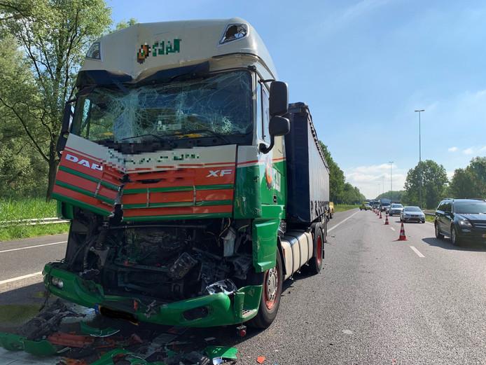 Ongeluk op A59
