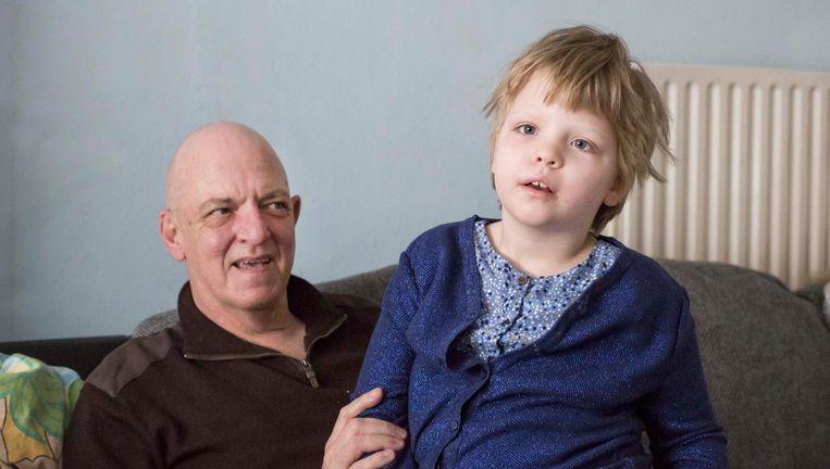 Papa Jean-Pierre Voncken is dol op zijn dochtertje Sofie.